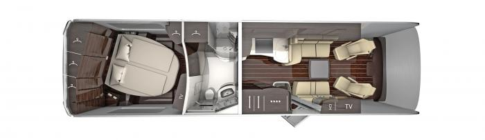 CONCORDE Centurion Atego 990 - lounge - obytné auto