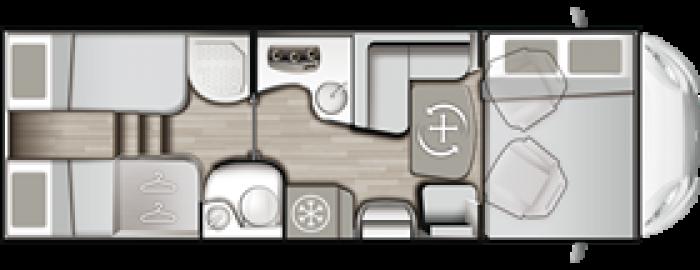 Mobilvetta Kea M 76